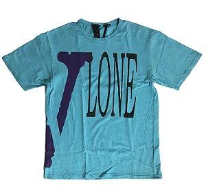 """VLONE - Camiseta Miami Pop-Up """"Blue"""""""
