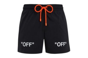 "Off-White x Vilebrequin - Bermuda OFF Logo ""Black"""