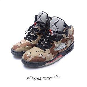 "Nike Air Jordan 5 Retro x Supreme ""Desert Camo"""
