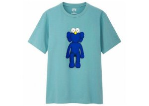 "UNIQLO x KAWS - Camiseta Blue BFF ""Green"""