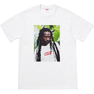 SUPREME - Camiseta Buju Banton ''White''