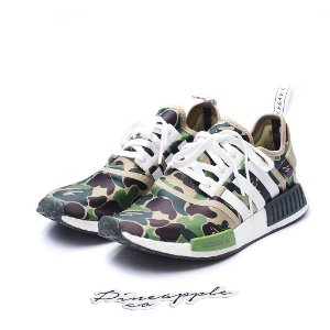 "adidas NMD R1 X Bape ""Green"""