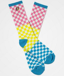 "ODD FUTURE - Meias Checkered ""Multicolor"""