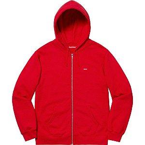 SUPREME - Moletom Small Box Zip Up ''Red''