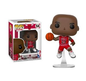 FUNKO POP! - Boneco Michael Jordan Chicago Bulls Uniform #54