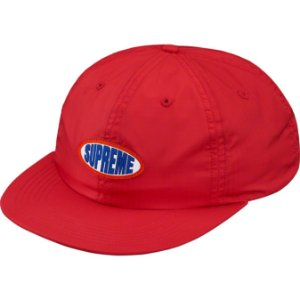 "SUPREME - Boné Oval Label 6-Panel ""Red"""
