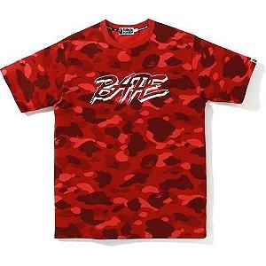 BAPE - Camiseta Color Camo ''Red''