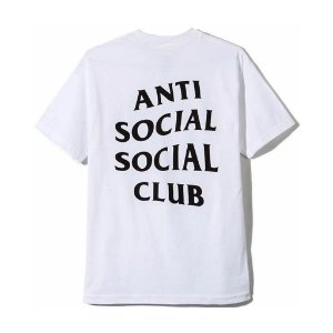 "ANTI SOCIAL SOCIAL CLUB - Camiseta Logo 2 ""White"""