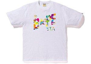 "BAPE - Camiseta Bapestar Camo Multi ""White"""