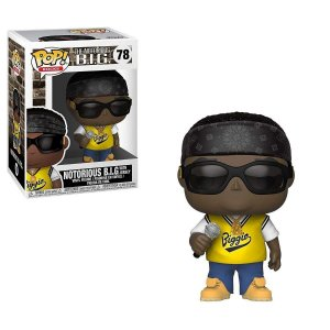 FUNKO POP! - Boneco The Notorious B.I.G #78 -NOVO-