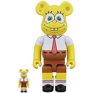 MEDICOM TOY - Boneco Be@rbrick Spongebob 100% + 400%