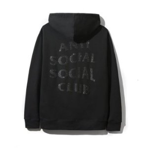 "ANTI SOCIAL SOCIAL CLUB - Moletom Blinded ""Black"""