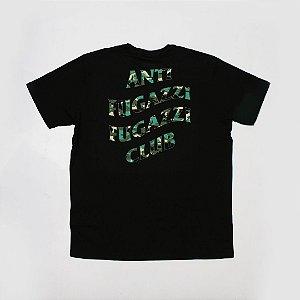 "YEEZY BUSTA - Camiseta Anti Fugazzi Club ""Black/Camo Green"""