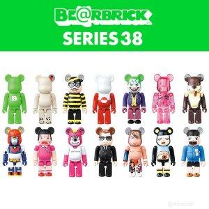 BEARBRICK - Boneco Series 38 Blind Box