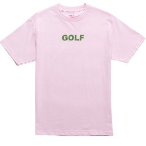 "GOLF WANG - Camiseta Logo Glitter ""Pink"""
