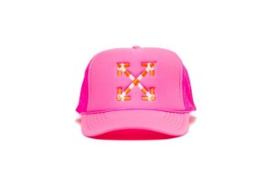 "Virgil Abloh x MCA Figures of Speech - Boné Arrows Trucker ""Pink"""