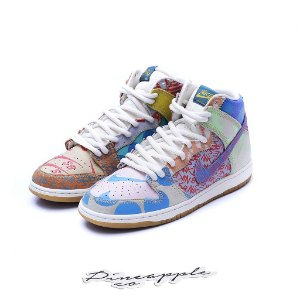 "Nike SB Dunk High x Thomas Campbell ""What The Dunk"""