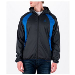 "NIKE - Jaqueta Jordan Windbreaker ""Black/Blue"""