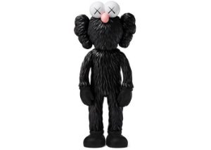 "KAWS - Boneco BFF Vinyl Open Edition ""Black"""