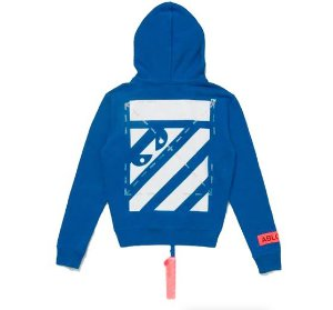 "Virgil Abloh x MCA OFF-WHITE - Moletom Figures of Speech ""Blue"""