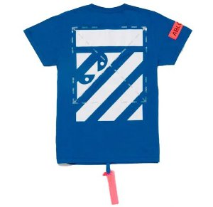 "Virgil Abloh x MCA OFF-WHITE - Camiseta Figures of Speech ""Blue"""