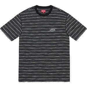 SUPREME - Camiseta Stripe Thermal ''Black''