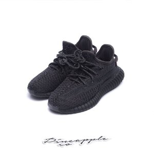 adidas Yeezy Boost 350 V2 Black (Non-Reflective) (Infant/GS)