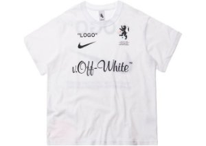 "NIKELAB x OFF-WHITE - Camiseta Mercurial NRG X FB ""Branco"" -NOVO-"