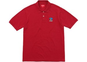 SUPREME - Camiseta Polo Gonz ''Red''