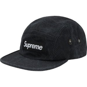 "SUPREME - Boné Washed Canvas Camp ""Black"""