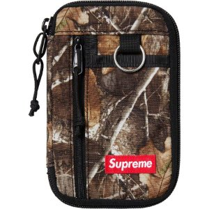 "SUPREME - Carteira Small Zip FW19 ""Camo"" -NOVO-"