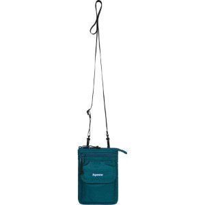 "SUPREME - Bolsa Shoulder FW19 ""Teal"""