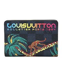 LOUIS VUITTON - Porta Cartão Damier Cobalt