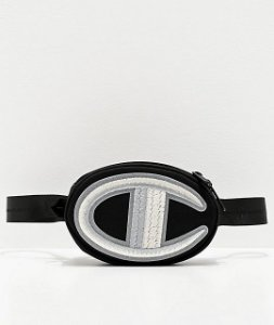 "ENCOMENDA - CHAMPION - Pochete Waist Prime Novelty ""Black"""