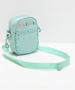 "ODD FUTURE - Bolsa Crossbody Logo ""Mint"" -NOVO-"