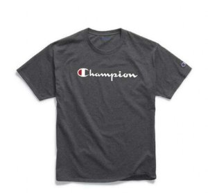 "CHAMPION - Camiseta Graphic Jersey ""Granito"" -NOVO-"