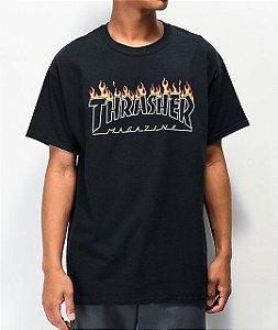 """THRASHER - Camiseta Scorched Outline """"Black"""""""