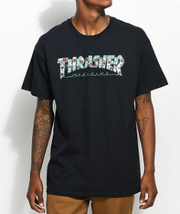 "THRASHER - Camiseta Roses ""Black"""