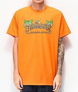 """THRASHER - Camiseta Tiki """"Orange"""""""