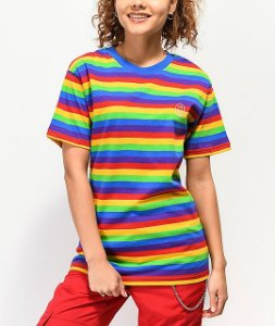 "ODD Future - Camiseta Striped ""Rainbow"""