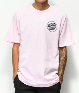 "Odd Future x Santa Cruz - Camiseta Circle Logo ""Pink"""