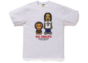 "BAPE - Camiseta Baby Milo x Wiz Khalifa ""White"""