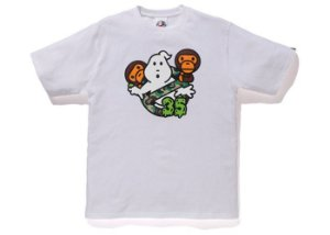 "BAPE - Camiseta Baby Milo x Ghostbusters ""White"""