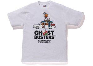"BAPE - Camiseta Baby Milo x Ghostbusters Car ""White"""