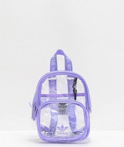 "adidas - Mochila Mini ""Clear/Purple"""