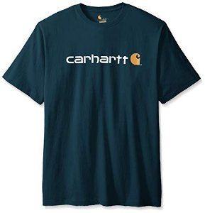 "CARHARTT- Camiseta Script Logo ""Bold Blue"""