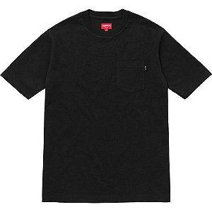 "SUPREME - Camiseta Pocket ""Black"""