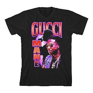 """GUCCI MANE - Camiseta Collage """"Black"""""""