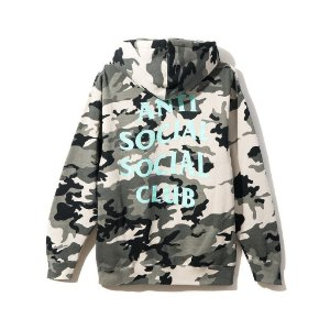 "ANTI SOCIAL SOCIAL CLUB - Moletom Melrose Ave. Hoodie ""Camo Grey"""