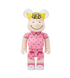 Medicom Toy x Peanuts - Bearbrick 100% Sally Brown